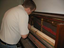 Servicing used pianos for reliability & better performance