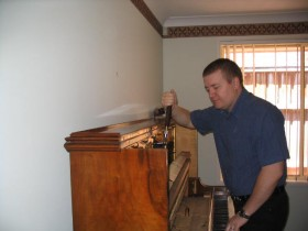 Piano tuning by experienced piano tuner